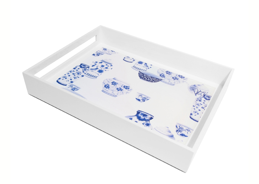Serving Tray, Chinoserie