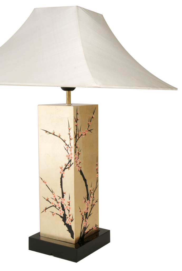 Table Lamp, Cherry Blossom