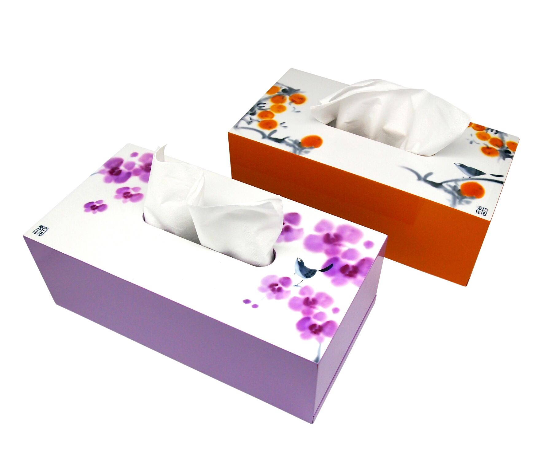 Tissue Box (Mandarins), Joy