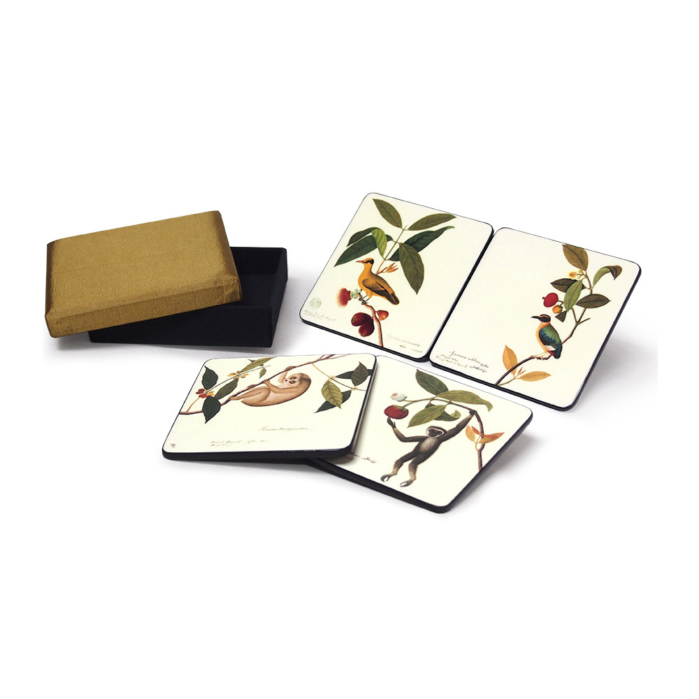 Coasters, Set of 4, William Farquhar