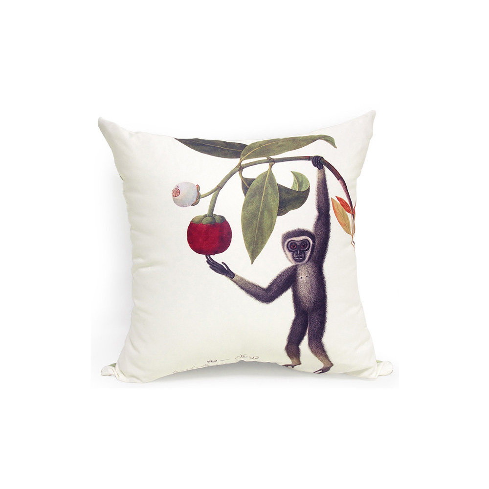 Cushion Cover (Gibbon), William Farquhar
